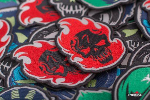 Embroidery suicide squad el diablo mashup