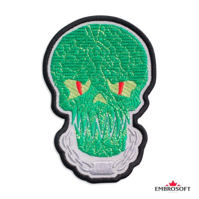 Embroidered suicide squad killer croc frontal photo