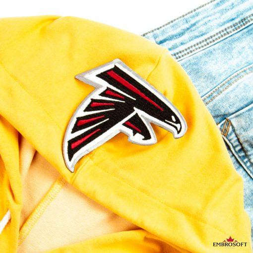 Atlanta Falcons team member emblem patch