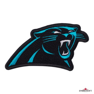 Carolina Panthers logo patch NFL team logo