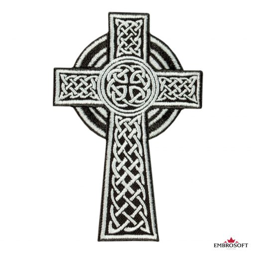 Celtic Cross small patch for backpacks