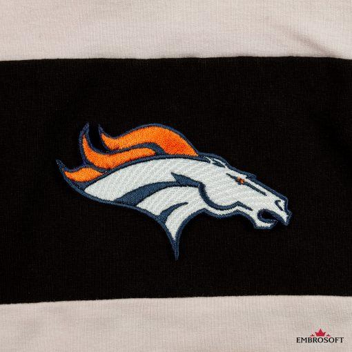 Denver Broncos Hoodie embroidery