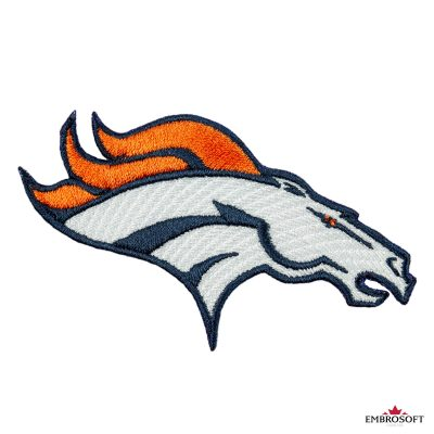 Denver Broncos american football team logo frontal