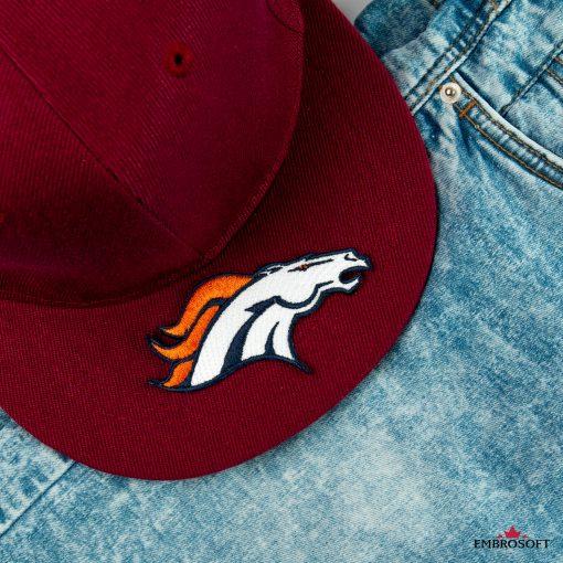 Denver Broncos cap with nfl team emblem
