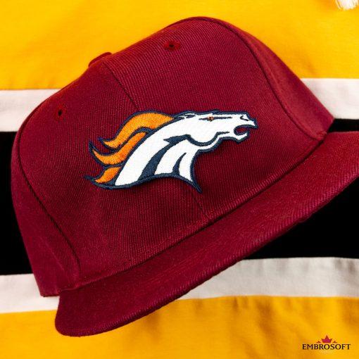 Denver Broncos cap with team logo