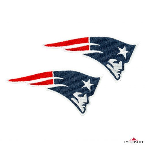 New England Patriots embroidery for clothes