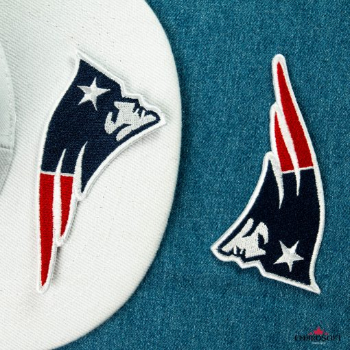 New England Patriots embroidery for nfl team fans