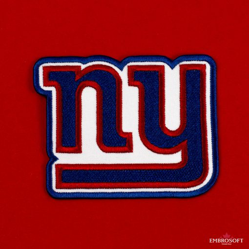 New York Giants logo patch for clothes