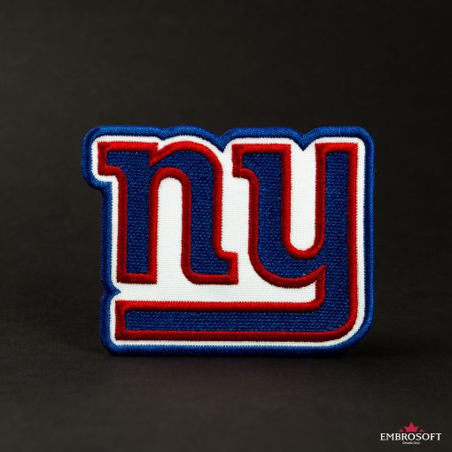 New York Giants nfl team emblem patch