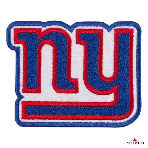 New York Giants logo patch