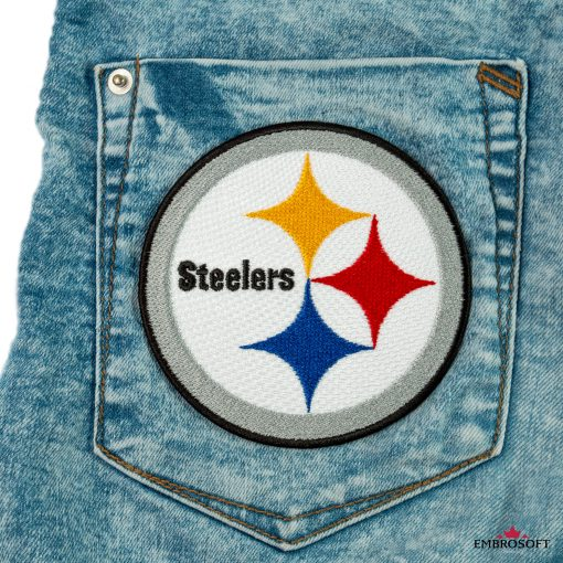 Pittsburgh Steelers embroidered patches for jeans