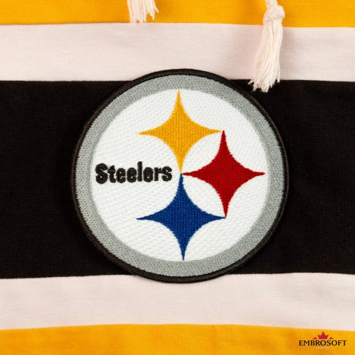 Pittsburgh Steelers fabric embroidery for fans
