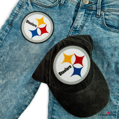 Pittsburgh Steelersnfl team logo patch for jeans jackets