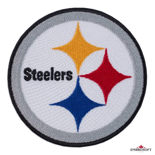Pittsburgh Steelers logo patch NFL team logo frontal