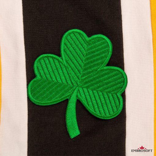 Saint patrick's day emblem green clover