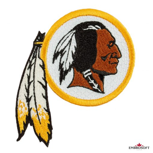 Washington Redskins nfl team embroidered logo