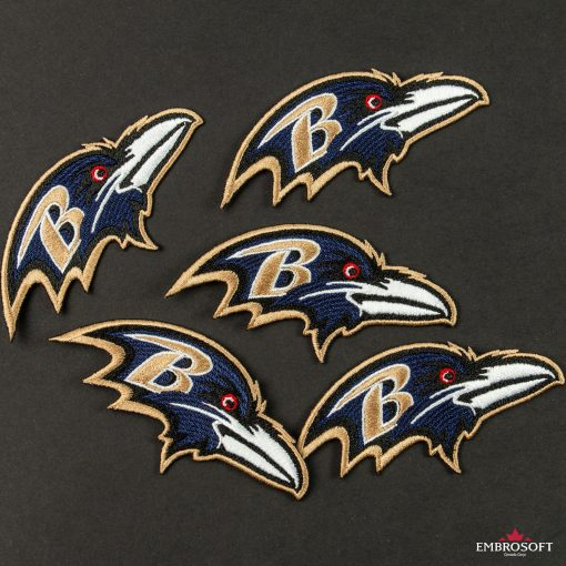 Baltimore Ravens embroidered patch NFL team emblem