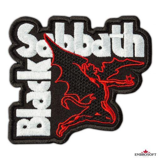 Black Sabbath fallen Ozzy patch frontal