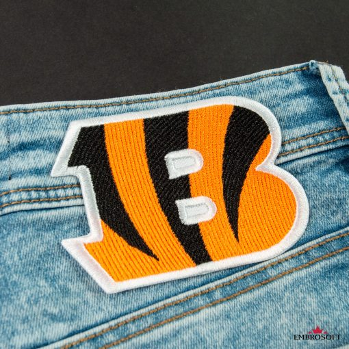 Cincinnati Bengals American football team embroidered patch