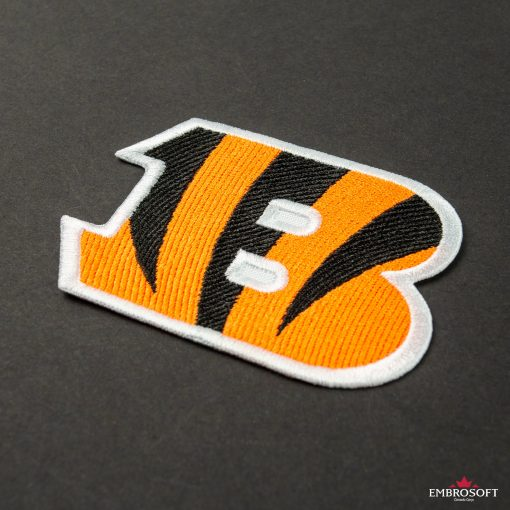 Cincinnati Bengals NFL team emblem embroidered patches for clothes