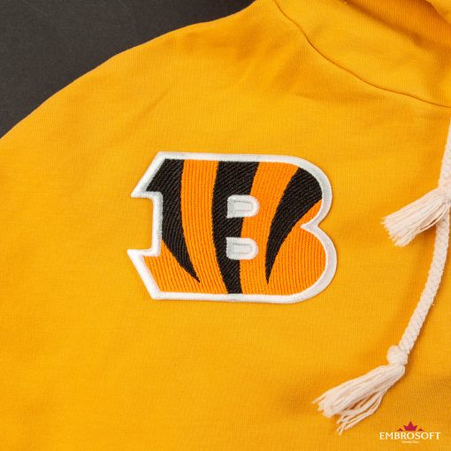 Cincinnati Bengals NFL team logo embroidered patch for fans clothes