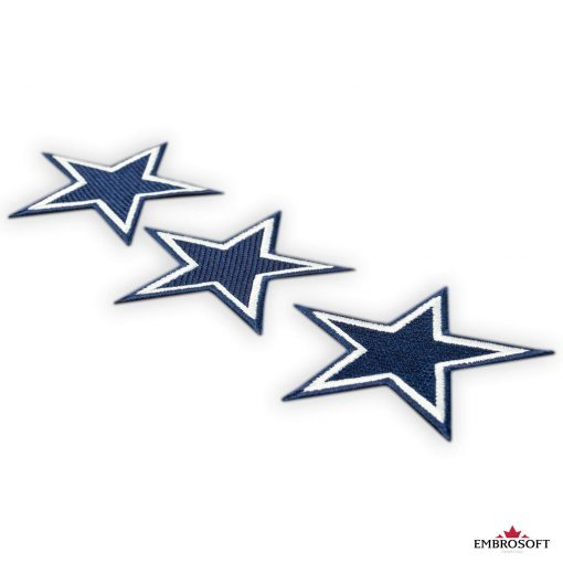 Dallas Cowboys NFL team embroidered patches collage