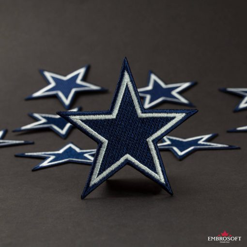 Dallas Cowboys american football team embroidery for cloth