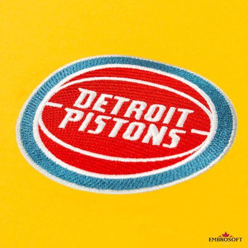 Detroit Pistons logo for fans NBA basketball uniform