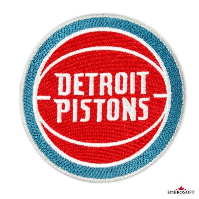 Detroit Pistons patch NBA team logo