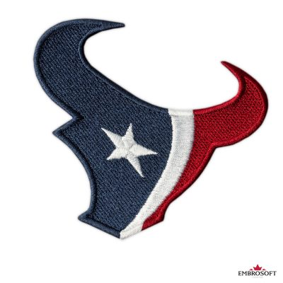 Houston Texans NFL team embroidered patch frontal