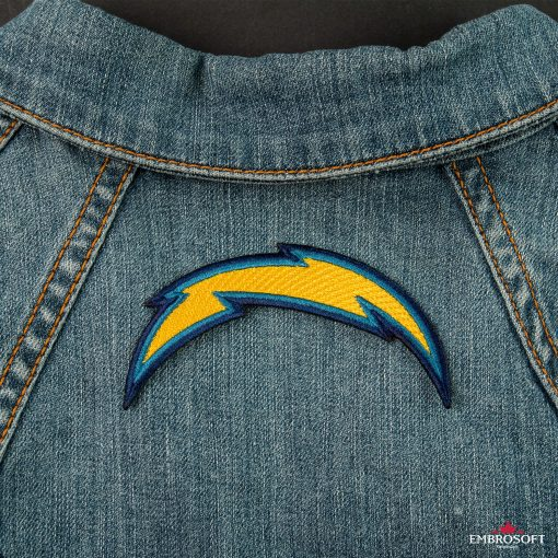 Los Angeles Chargers NFL pattches for back jeans jacket