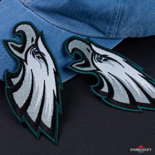 Philadelphia Eagles team logo for backpacks and jackets