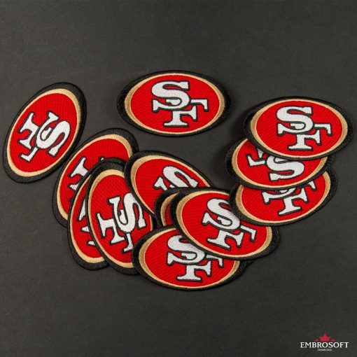 San Francisco ers NFL team embroidered emblem
