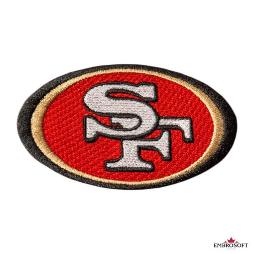 San Francisco ers NFL team logo for fans backpacks