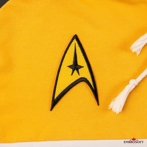 Star Trek Logo Embroidered patch TV series emblem Starship insignia