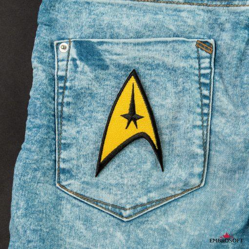 Star Trek Logo Embroidered patch TV series emblem for back jacketss