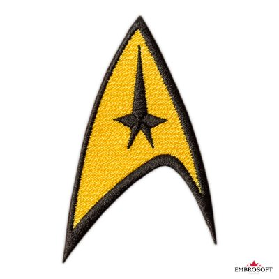 Star Trek Logo Embroidered patch TV series emblem frontal