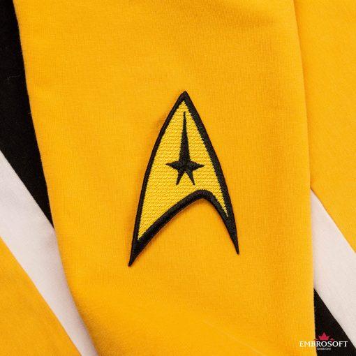 Star Trek Logo Embroidered patch TV series emblem hoody sleeve