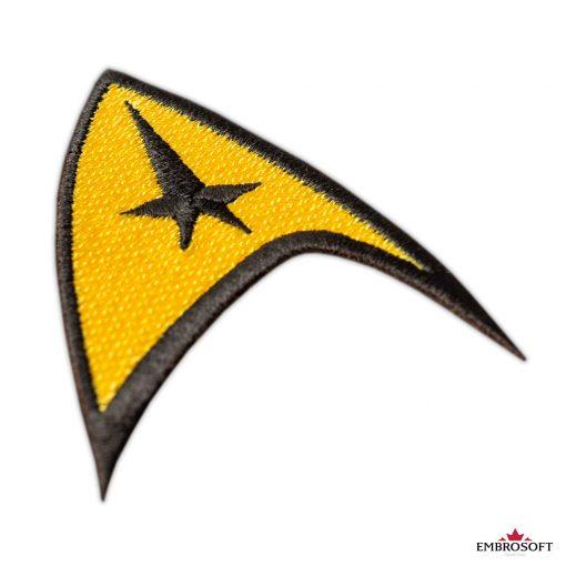 Star Trek Logo Embroidered patch captain emblem for clothes