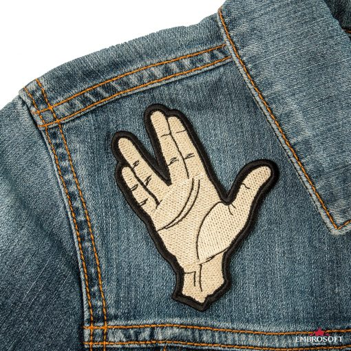Star Trek Spock Ok hand embroidery TV series