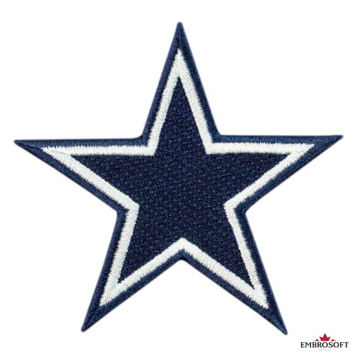 Team emblem patch Dallas Cowboys NFL frontal