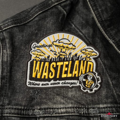 Fallout greatings for Wasteland front jeans jacket patch