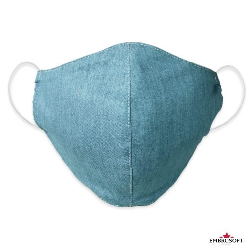 Jeans face mask frontal