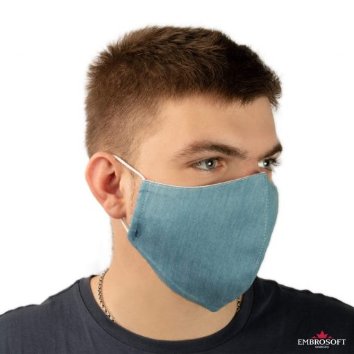 Jeans face mask left model boy