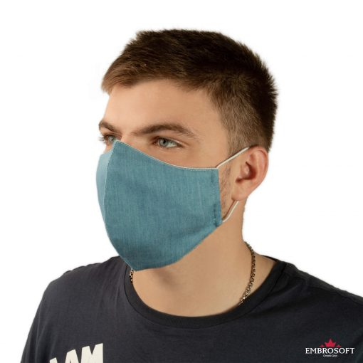 Jeans travel mask washable model
