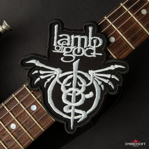 Lamb of God Wrath guitar neck