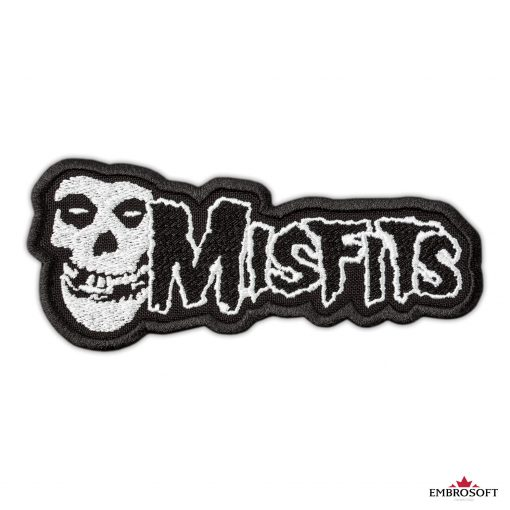 Misfits horizontal small patch frontal