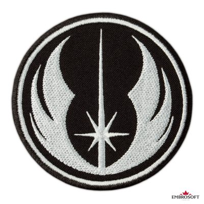 Star Wars Jedi Order Logo embroidery for fans frontal