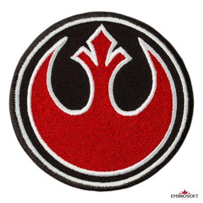 Star Wars Rebel Alliance Logo embroidery frontal