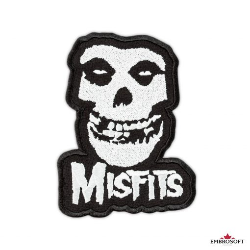 The Misfits medium size patch frontal for clothes